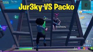 Wave Jur3ky VS Heretics Packo 1v1 Buildfights!