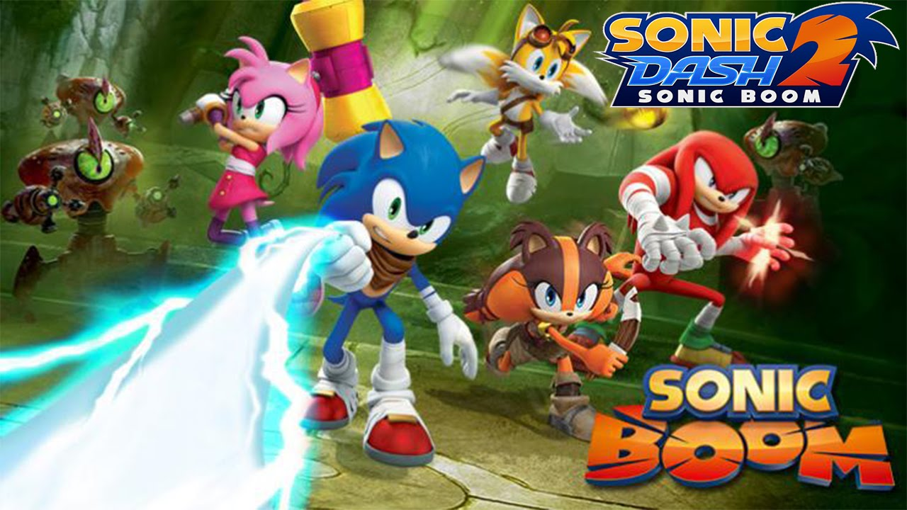 لعبه Sonic Dash 2: Sonic Boom v1.2.1 مهكره جاهزه
