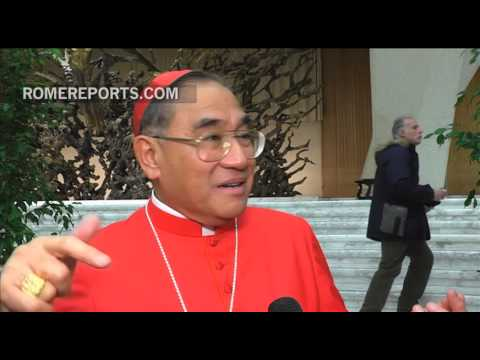 "New Cardinal from Bangkok: Pope Francis told me the role ""is a service of love"""