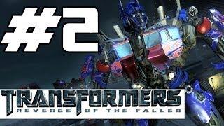 Transformers: Revenge of the Fallen Walkthrough Part 2 - Shanghai (Gameplay Commentary)