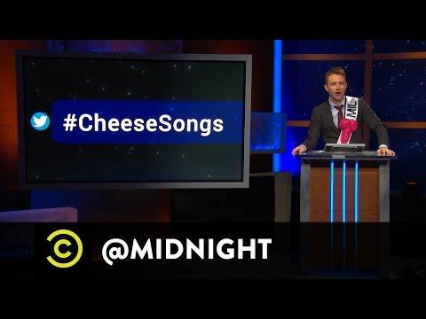 #HashtagWars - #CheeseSongs - @midnight with Chris Hardwick