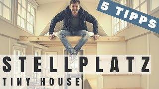 ➤ Tiny House Stellplatz Finden - 5 Tipps | Max Green | Tiny House Deutschland