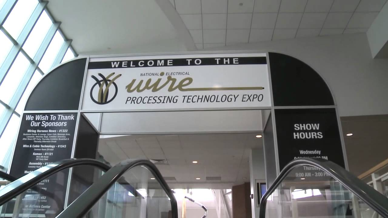 maxresdefault national electrical wire processing technology expo youtube wire harness show milwaukee at arjmand.co