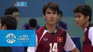 Volleyball Men's Team Semi-Final 2 - VIE vs MYA | 28th SEA Games Singapore 2015