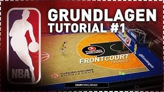 [GER] NBA 2K Tutorial - Basketball Grundlagen #1