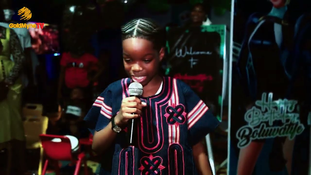 WIZKID'S SON, TIFE BALOGUN AND HIS MUM SOLA OGUDU'S SPECIAL MOMENTS AT TIFE'S 10TH BIRTHDAY PARTY