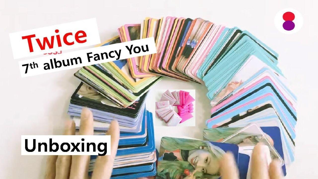 Unboxing 트와이스 トレカTwice 7th mini album fancy you トゥワイス 언박싱