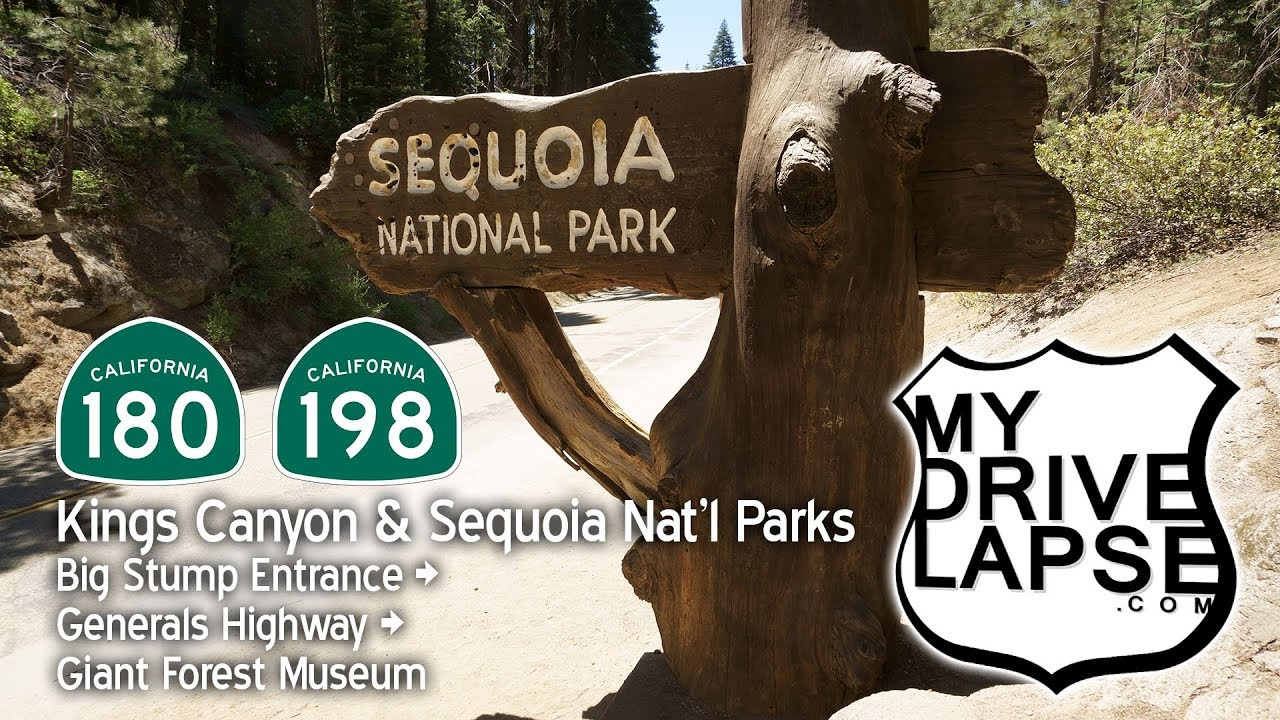 Generals Highway, Southbound, Sequoia & Kings Canyon Parks