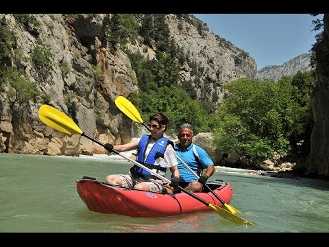 Canoe Adventure on Oymapinar Lake in Manavgat Antalya