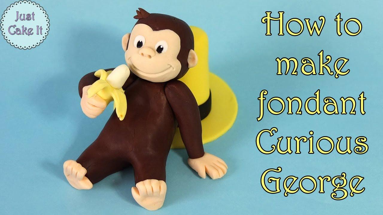 How To Make Fondant Curious George Jak Zrobić Figurkę