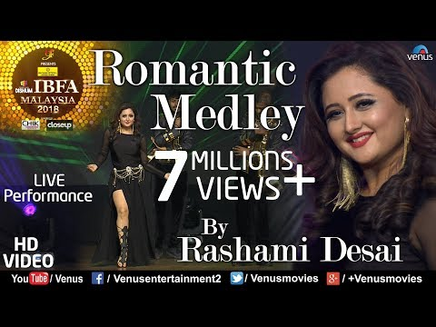 Rashami Desai | Romantic Medley | VIDEO | Chura Ke Dil, Pyar Pyar, Kaali Kaali| Malaysia Bhoj Awards