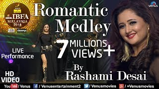 Rashami Desai | Romantic Medley | VIDEO | Chura Ke Dil, Pyar Pyar, Kaali Kaali| Malaysia Bhoj Awards