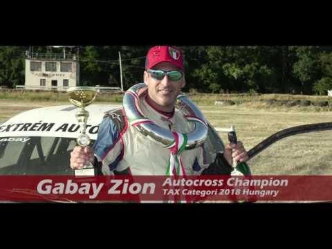 Download Gabay Zion 2018 Autocross Champion Hungary