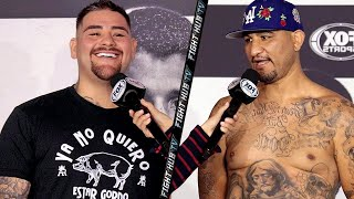 ANDY RUIZ JR & CHRIS ARREOLA SEND FINAL MESSAGE TO EACH OTHER BEFORE FIGHT - READY FOR MEXICAN WAR!