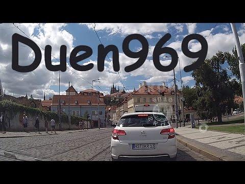 Czech Republic (89.) - Driving in central Prague