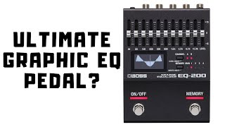 BOSS EQ-200 - First Look - High Gain