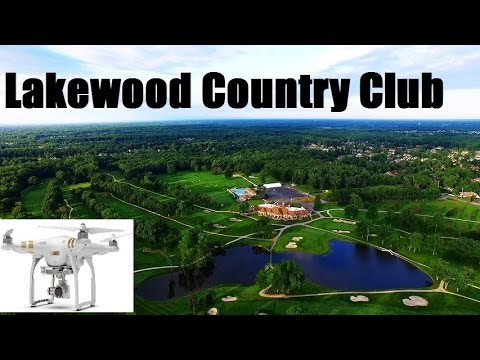 Sunrise Flight over Lakewood Country Club Dji Phantom 3 Advanced