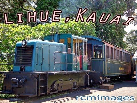 "Kilohana Plantation Railway: 1939 Whitcomb Diesel Engine Train ""Ike"" (Kauai)—Lihue, Hawaii"
