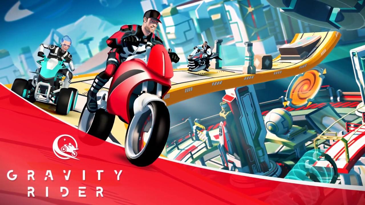 Gravity Rider: Power Run | Launch Gameplay Trailer - YouTube