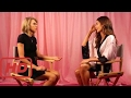 Victoria's Secret Live 2014:  Lily Aldridge & Martha Hunt