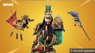 Fortnite Item Shop 2 December New GUAN YU Skin (Nederlands)