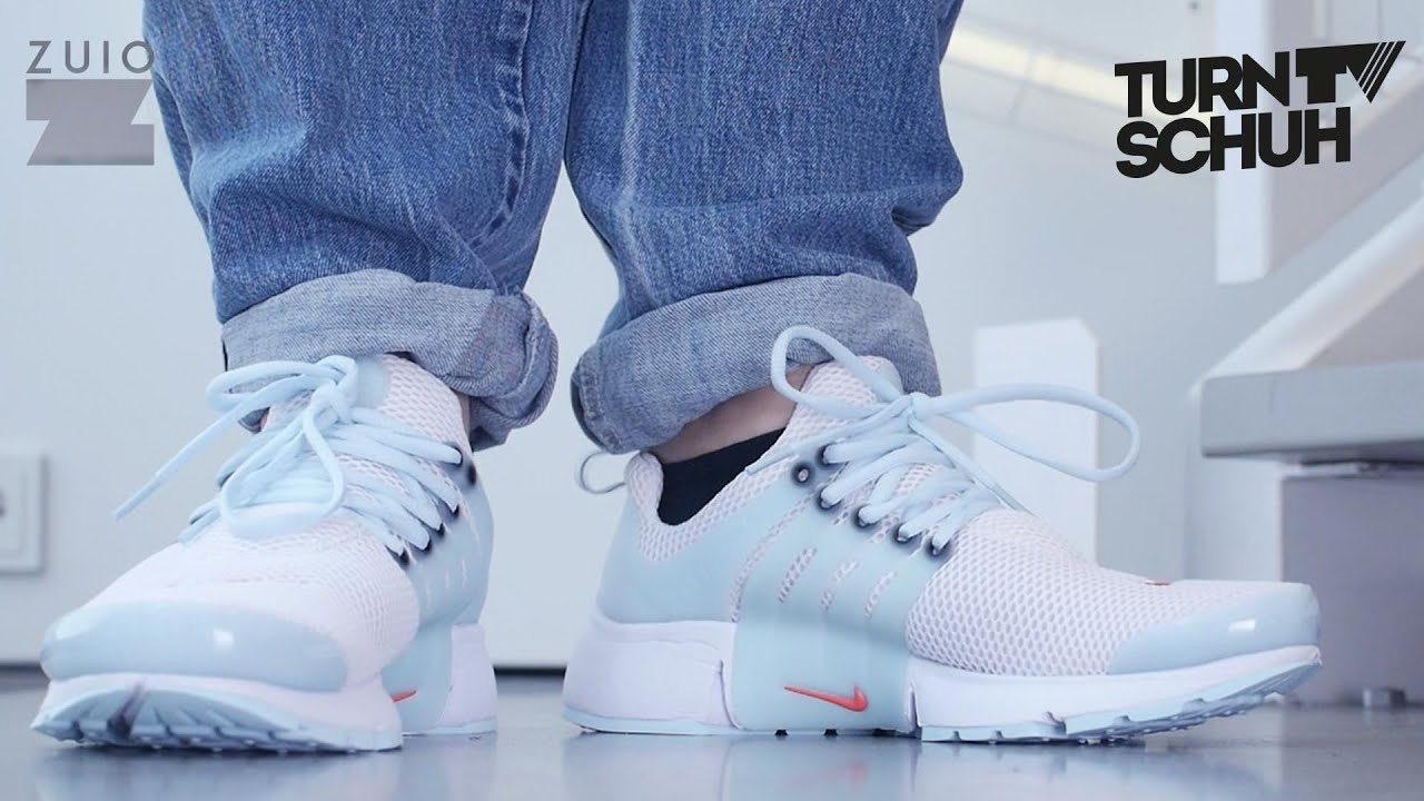 buy popular 6b75d 69ca4 Nike Air Presto White On Feet