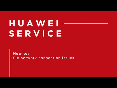 Huawei P30 Pro - How To Fix Network Connection Issues