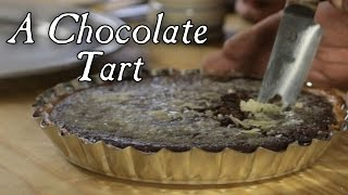 Chocolate Tart - 18th Century Cooking with Jas Townsend and Son S4E3