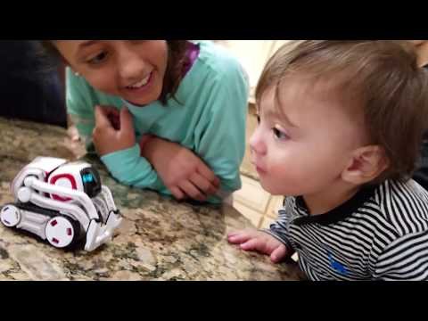 Thumbnail: ROBOT SAVES BABY FROM FIRE! COZMO Playtime! Artificial Intelligence Super Computer FUNnel Vision Fun
