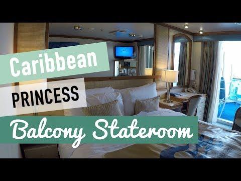 Caribbean Princess Balcony Stateroom C107