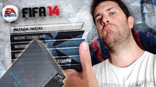 JUGANDO POR PRIMERA VEZ AL FIFA 14 DE PS2!!!