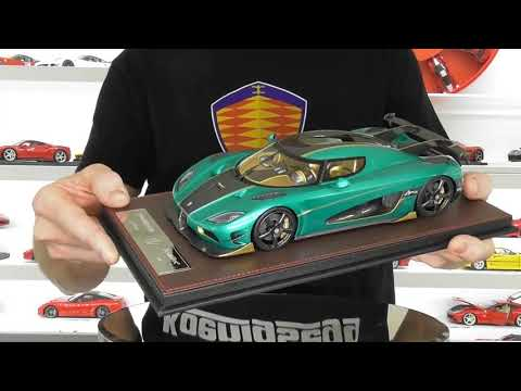 KOENIGSEGG AGERA RSR by FRONTIART MODELS - Quick Review