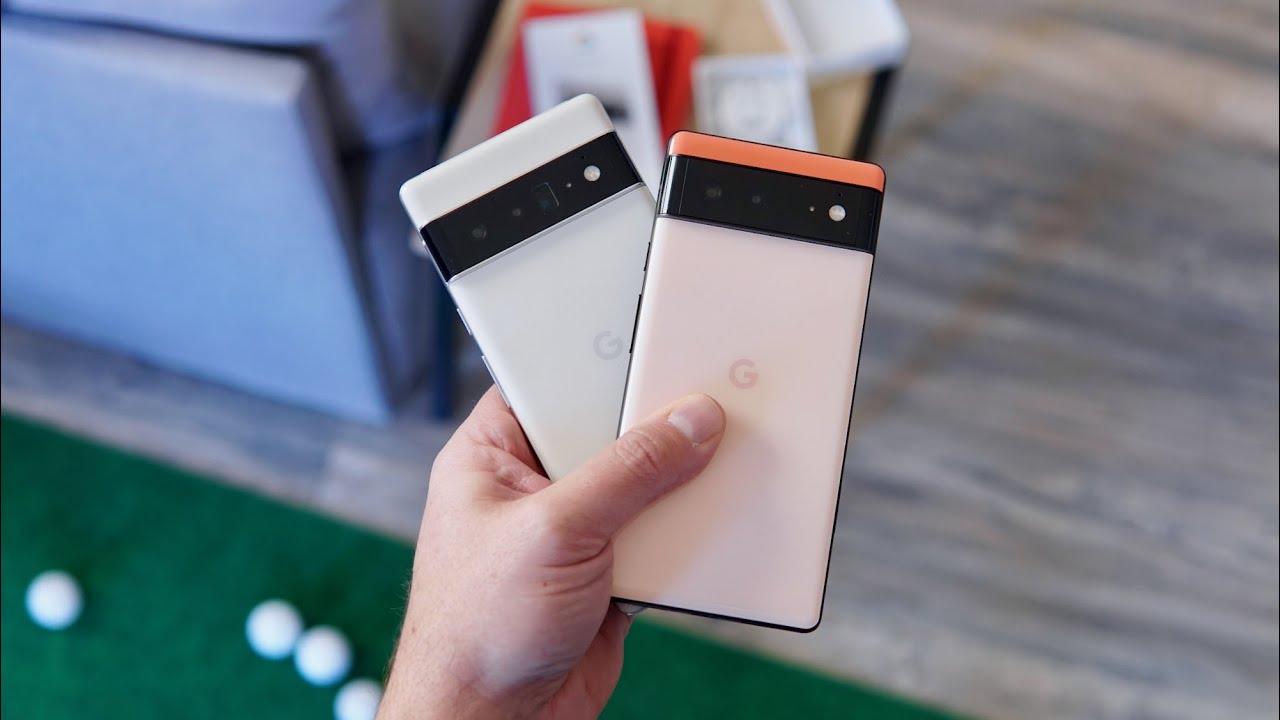 Google Pixel 6 & 6 Pro: Unboxing & Impressions