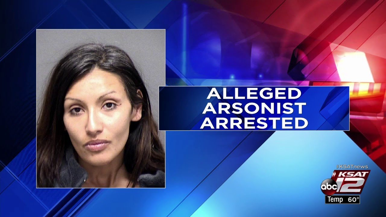 Bexar County Fire Marshal's Office arrests woman, 33, on arson, burglary  charges