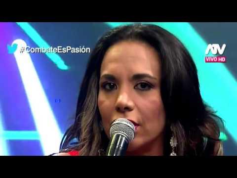 COMBATE Discusion entre Monica Cabrejos y Fabio Agostini 30/03/16