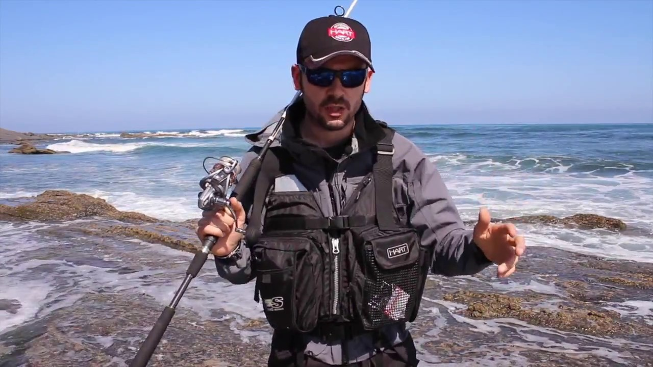 HART MULTI USE TECHNICAL FISHING VEST SPINNING PRO
