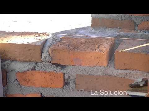 Como poner los ladrillos