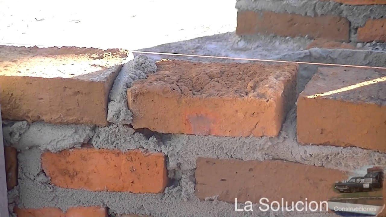 Como poner los ladrillos youtube - Como colocar ladrillos en una pared ...