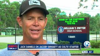 Jack Daniels on Jacoby Brissett being named Colts starting QB