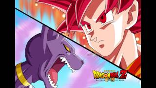 Dragon ball Z Battle of gods Ost--Goku in trouble (extended song)