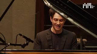 Semifinalist Leonardo Pierdomenico at Auditorium Gaber - Rameau, Liszt, Chopin