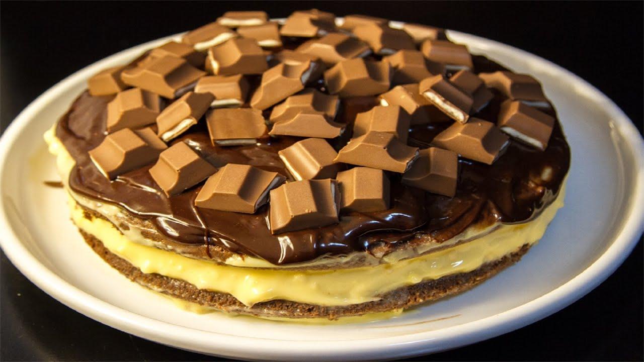 Boston custard cake recipe