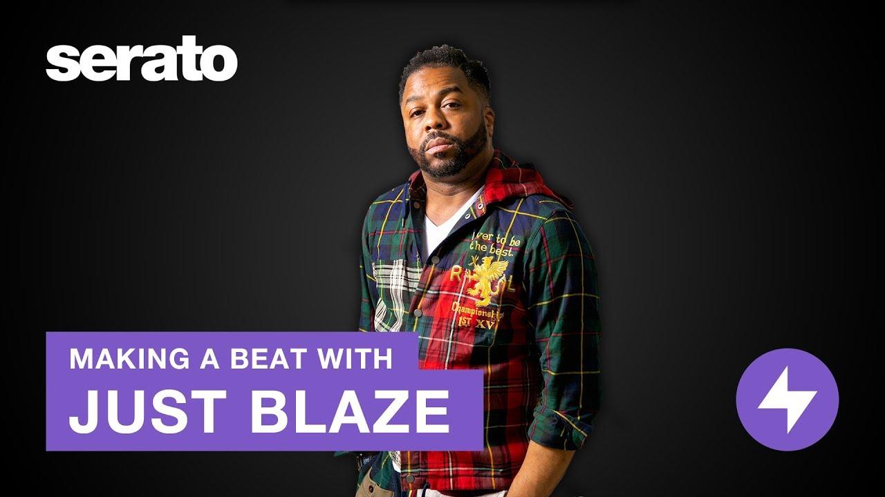 Just Blaze | Making a Beat in Serato Studio