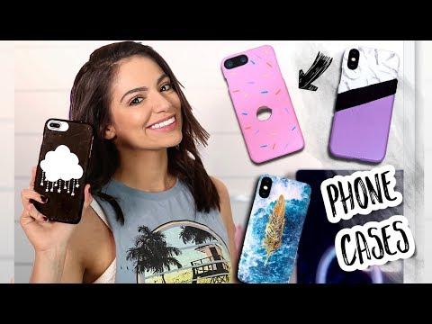 DIY PHONE CASES  Easy & Cute! | Bethany Mota