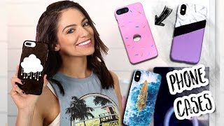 DIY PHONE CASES  Easy & Cute! | Bethany Mota