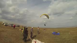 Параплан - полет на точность. Чемпионат Иркутской области в 2017 г.