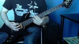 Stone Sour - RU486 (Guitar Cover + Solo) BC Rich Warlock