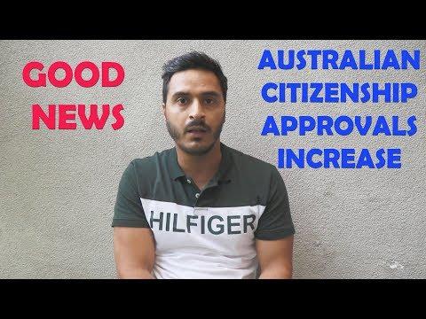 GOOD NEWS II AUSTRALIAN CITIZENSHIP APPROVALS JUMP TO NEW LEVEL