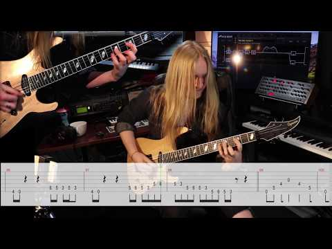 KOBRA AND THE LOTUS - Losing My Humanity (Guitar Playthrough) | Napalm Records