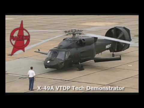 Piasecki X 49A SpeedHawk Helicopter for US Military